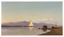 Image from object titled Kingston Point, Hudson River