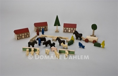 Bauernhof-Miniaturen