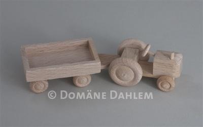 Spielzeug - Traktor mit Hänger