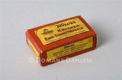 """Miniaturschachtel """"Knorr Kätchen-Eier-Schnittnudeln"""""""