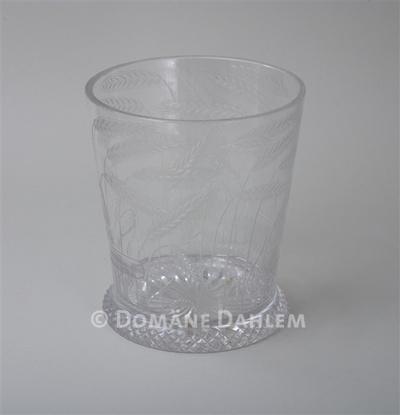 """Kristallglas - Erster Weltkrieg """"Droht uns der Feind auch mit Hunger und Not ..."""""""