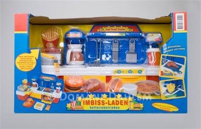 Imbiss-Laden, Originalverpackung