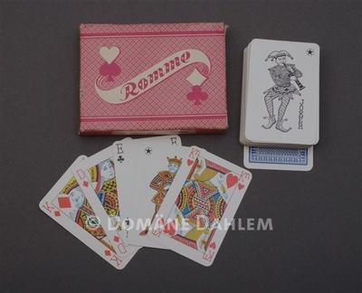 Rommé-Spielkarten