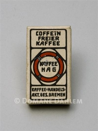 "Spielzeugschachtel ""Kaffee Hag"""