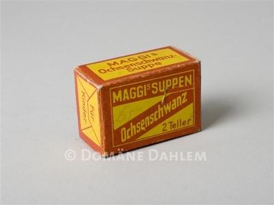 "Schachtel ""Maggi's Suppen"""
