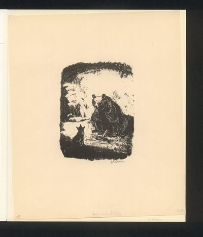 Braun der Bär und Reineke Fuchs