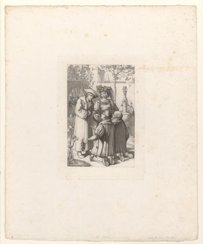 Zwei Nürnberger Kaufleute bei Kaiser Maximilian und Weislingen