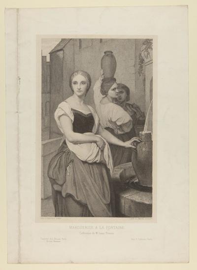 """""""Marguerite à la Fontaine"""""""