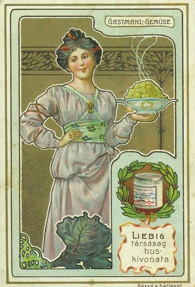 Image from object titled Liebig kártya