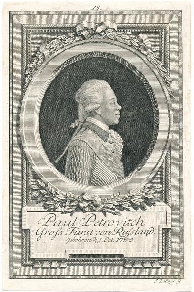 Grossfürst Paul Petrovitsch