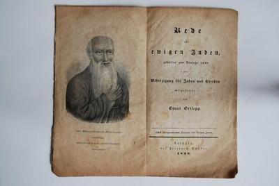 Rede des ewigen Juden, ...