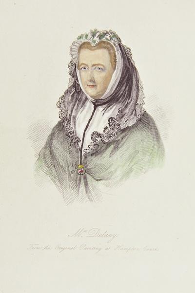 Porträt Mary Delany, verw. Pendarves, geb. Granville