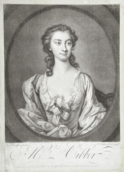 Porträt Susanna Maria Cibber, geb. Arne