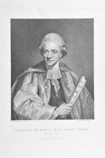 Porträt Charles Burney