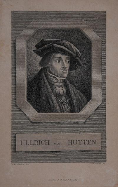 Porträt Ullrich von Hutten