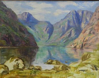 Norwegische Landschaft V