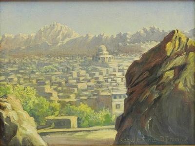 Panorama mit Timorgrab Kabul 6.X.1928