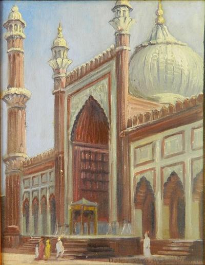 Stufen zur Moschee