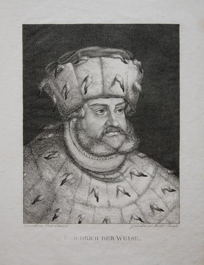 Porträt Friedrich der Weise