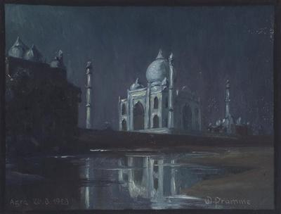 Nacht über der Moschee