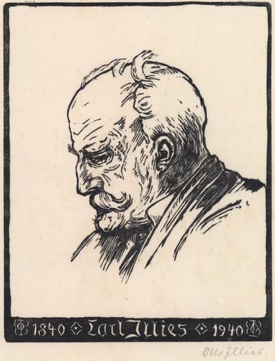 Porträt des Vaters Carl Illies