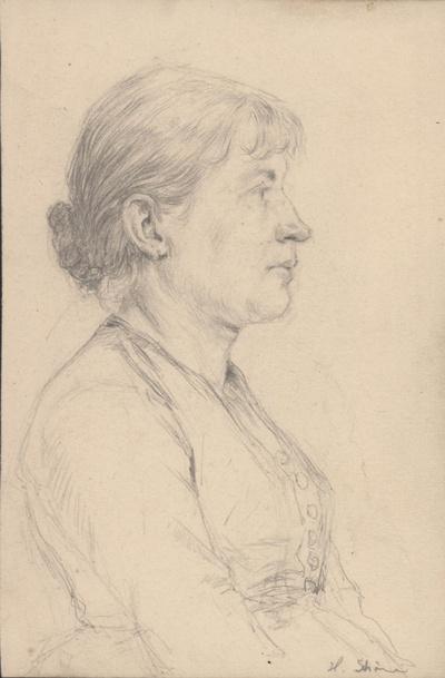 Porträt einer jüngeren Frau