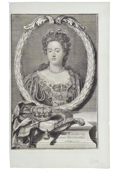 Image from object titled Porträt Anne, Königin von England