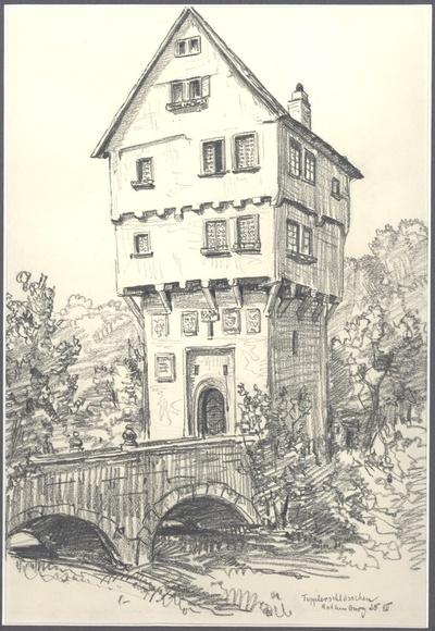 Topplerschlösschen Rothenburg