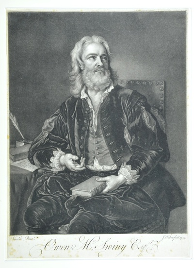 Porträt Owen MacSwiney