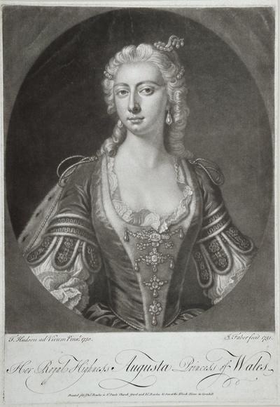 Porträt Augusta, Prinzessin von Wales