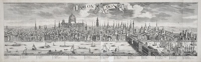 Image from object titled Stadtansicht von London