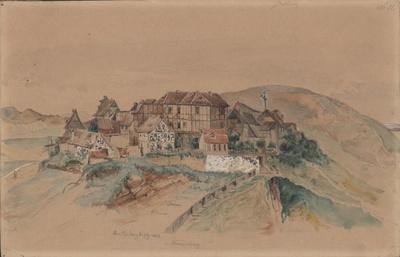 Image from object titled Quedlinburg vom Münzenberg