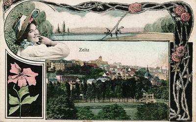 Ansichtskarte von Zeitz