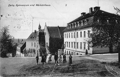 Zeitz, Gymnasium und Waisenhaus