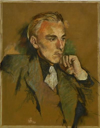 Image from object titled Porträt des Bruders