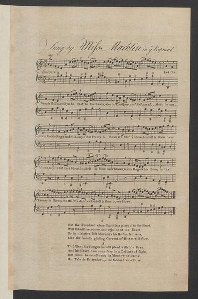 Sung by Miss Macklin in ye Reprisal