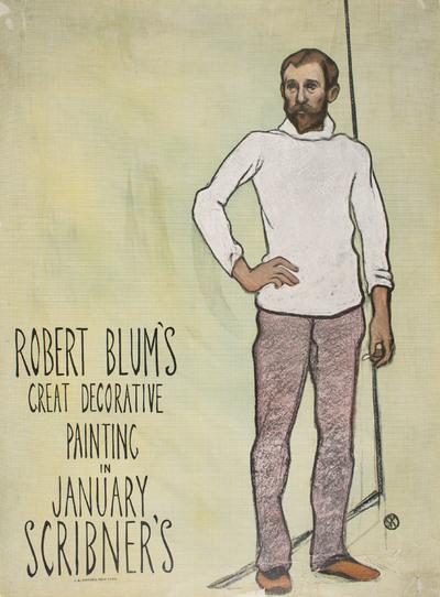 Robert Blum's Great Decorative Painting in January Scribner's