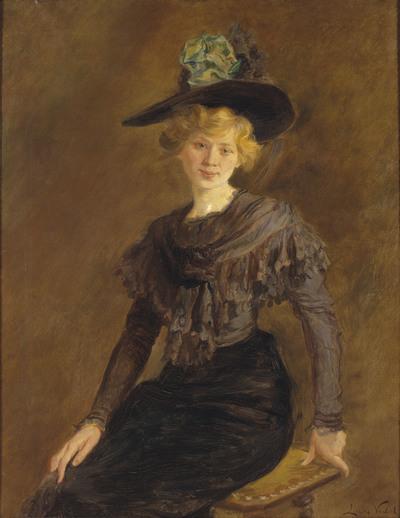 Portrait of Carlota Vidal
