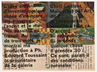 22 uitnodigingen, vlugschriften en teksten van en over Marcel Broodthaers [dut] -; 22 invitations, tracts et textes de et sur Marcel Broodthaers [fre]