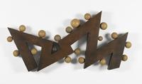 19 kogels op 12 vlakken in zigzag [dut] -; 19 boules sur 12 plans formant un zigzag [fre]