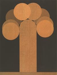Een afgeronde rechthoek en acht schijven [dut] -; Un rectangle arrondi et huit disques [fre]