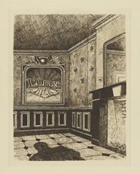 """16 illustraties voor """"Le pays des miroirs"""" van Claude Spaak [dut] -; 16 illustrations pour """"Le pays des miroirs"""" de Claude Spaak [fre]"""