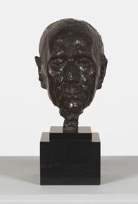 Hoofd van Franz Hellens [dut] -; Tête de Franz Hellens [fre]