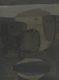Schilderij met zwarte punten [dut] -; Tableau aux points noirs [fre]