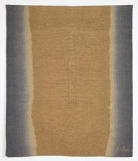Okerkleurige torso op grijze achtergrond II [dut] -; Torse ocre sur fond gris II [fre]
