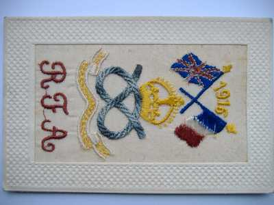 Embroidery on post cards (2)