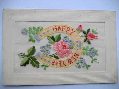 Embroidery on post cards (4)