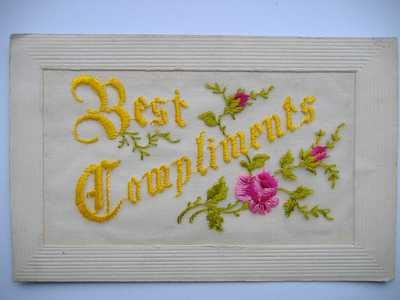 Embroidery on post cards (6)