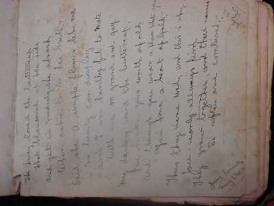 Autograph book from Didcot relating to Kenneth Tallett and Family (13)