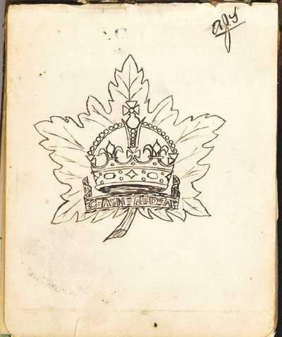 Autograph Book of QMAAC Wkr Margaret McElligott (5)